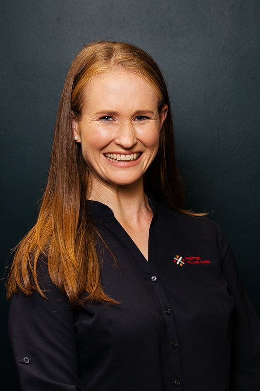 Kristy Hord Physiotherapist Hunter Allied Care Newcastle